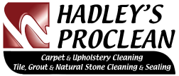 Hadley's Pro Clean | Carpet, Tile, Upholstery Cleaning Logo